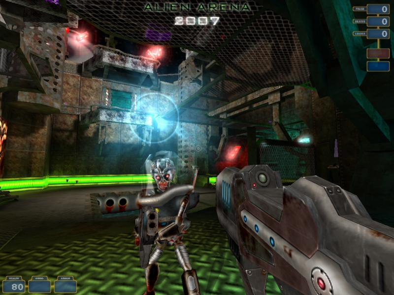 Скриншоты Alien Arena 2007 Микпортал - Игры, Кланы, Социальная сеть.