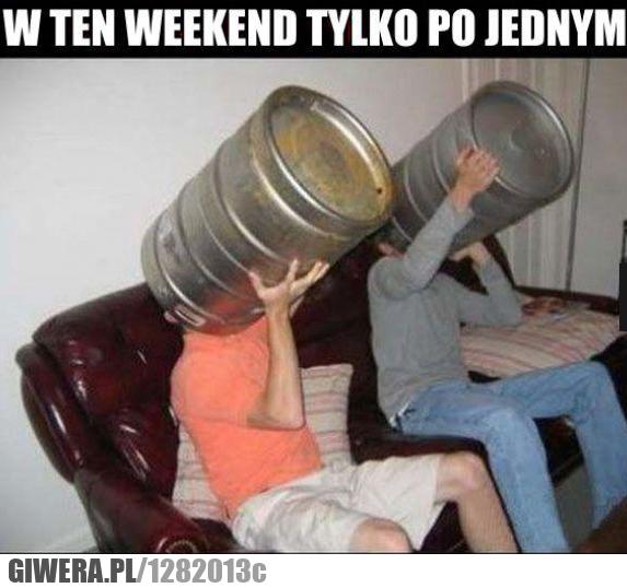 po piwie