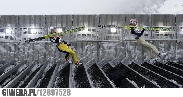 iluzja,skoki narciarskie