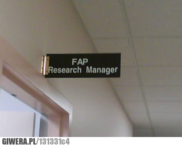 FAP Research Manger
