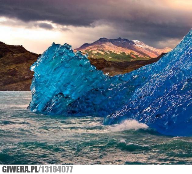 lód,niebieski