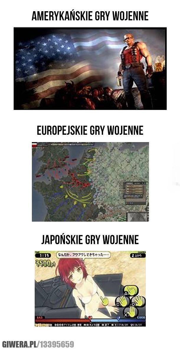 gry wojenne
