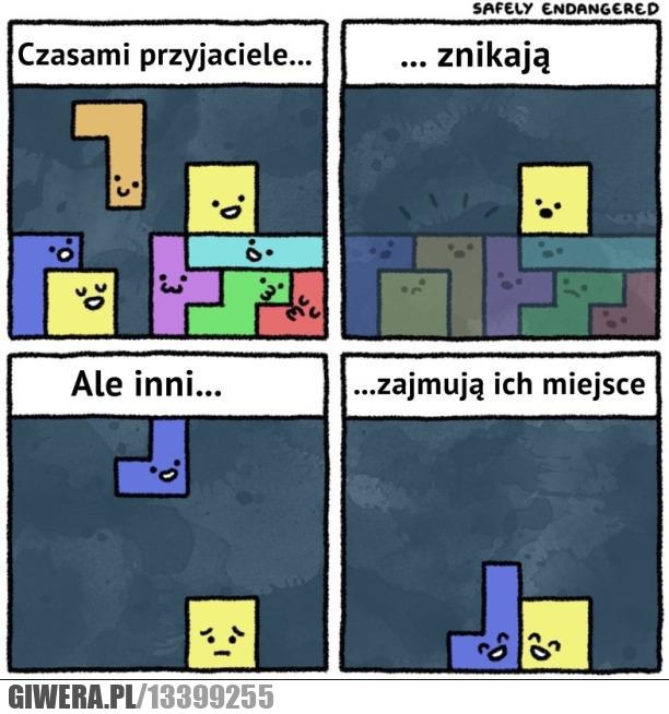 Przyjaciele,tetris