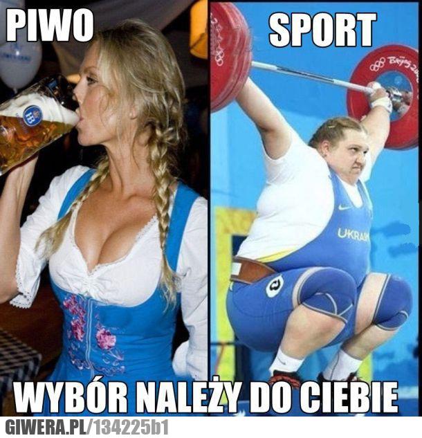 sport,piwo