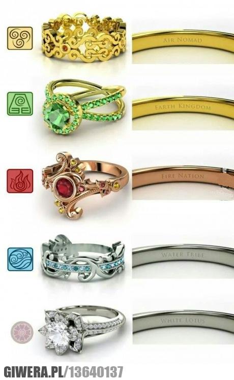 kobieto wybieraj,pierścionki