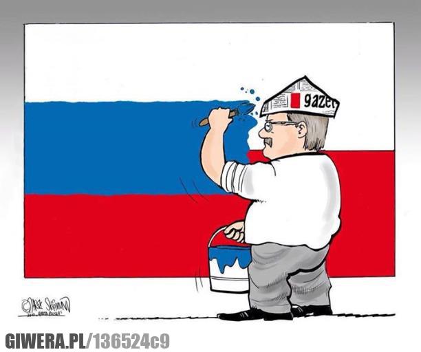 Bronek,Flaga,Polska,Rosja
