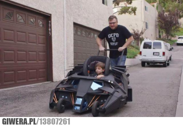 ojciec,wózek