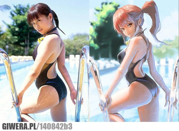 Azjatki,rzeczywistość,anime