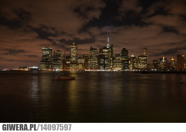 Manhattan,noc,USA,Nowy Jork,New York,Earthporn