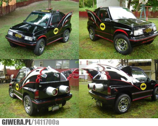 Batmobile,jeep,batman