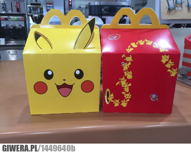 McDonald,Happy Meal,Japonia,Pikaczu,Pokemony