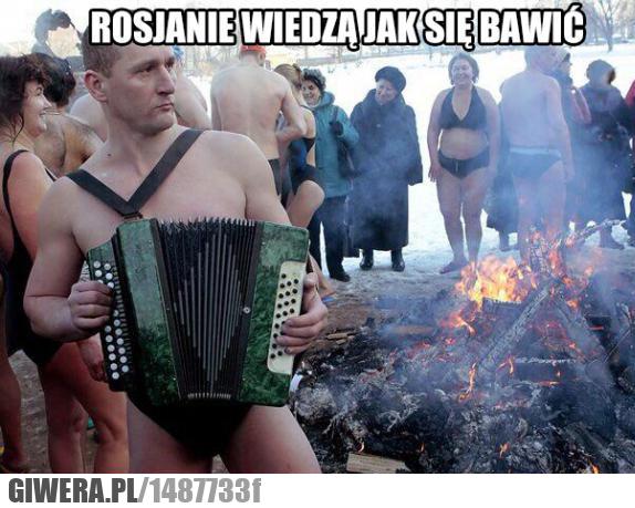 Rosja,Mors,zabawa