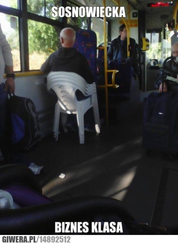 Sosnowiec,autobus,biznes klasa