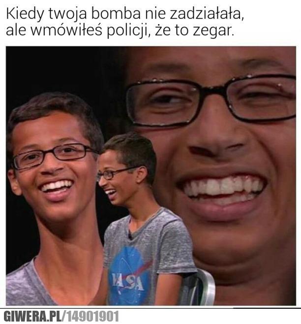 Bomba,zegar