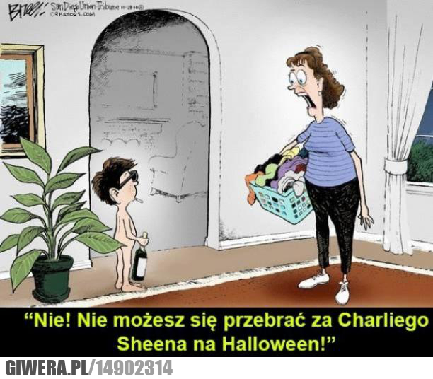 Halloween,Charli Sheen