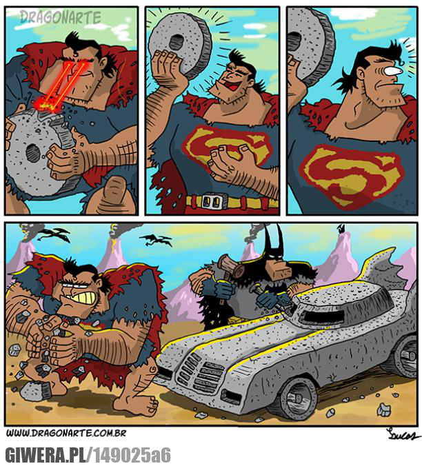 Prehistoryczni superbohaterowie,Batman,Superman