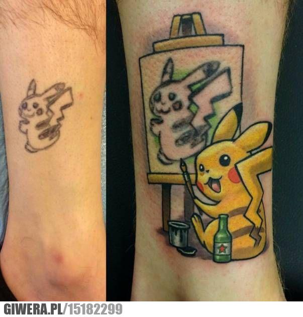 Tatuaż,Pikaczu