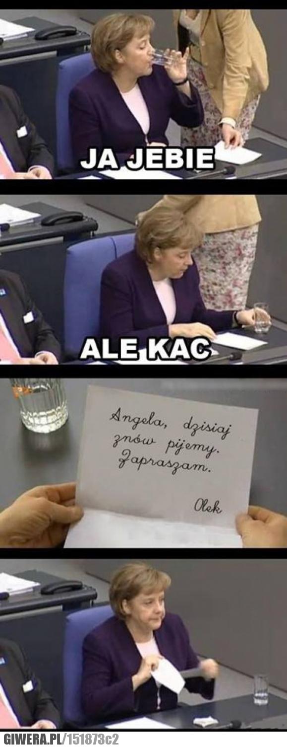 Zaproszenie,kac,Merkel