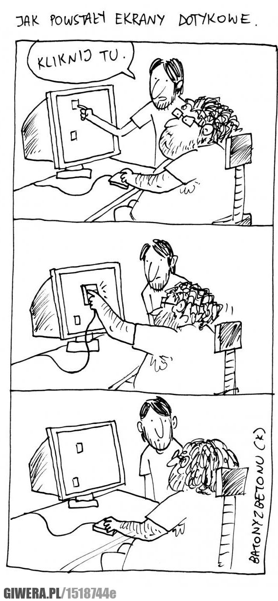 Ekran dotykowy