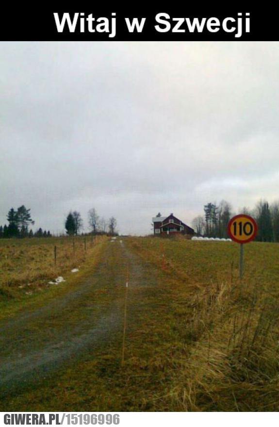 Szwecja,znak drogowy
