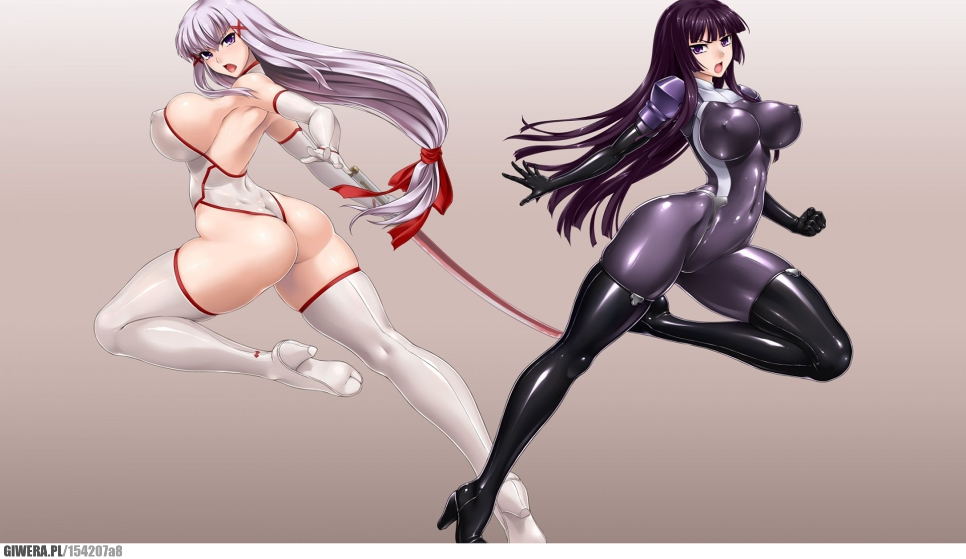 Sexy 3d anime girls in boots fucking movies