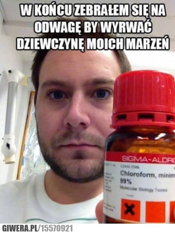 Sposób na podryw,Chloroform