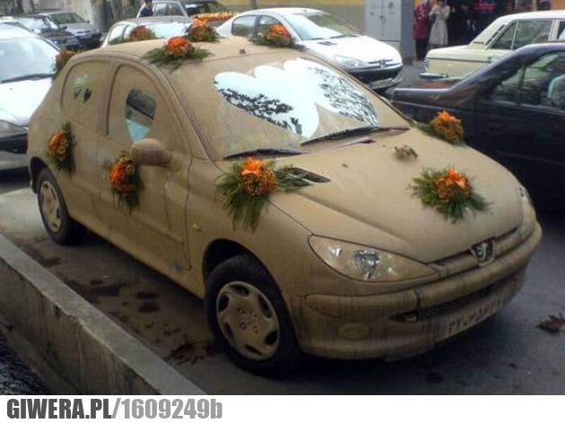 Miłość,brud,samochód