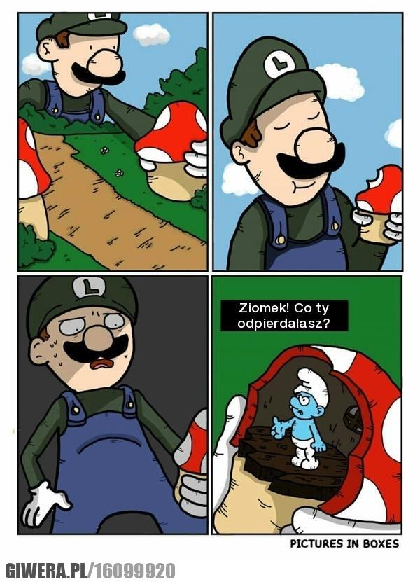 Luigi,Smerfy,Smerf