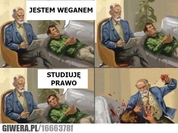 Weganizm,student prawa