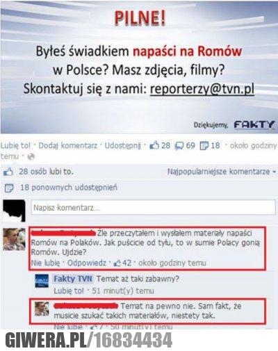 romowie, tvn