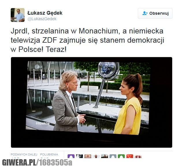 Temat dnia w niemieckiej ZDF