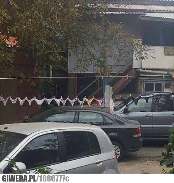 Parking,stringi,pranie,wtf