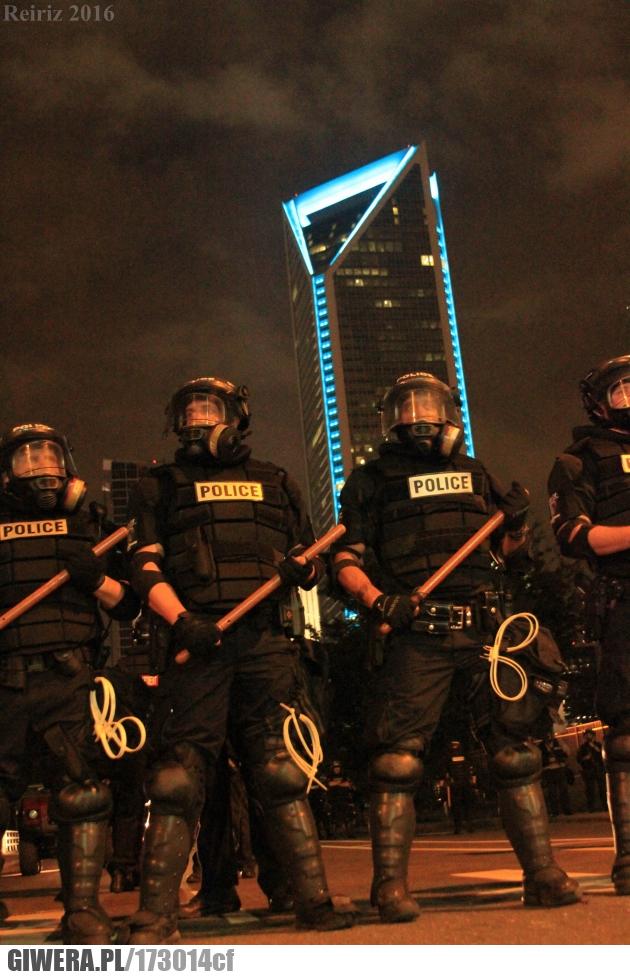 Policjanci przygotowani na protest