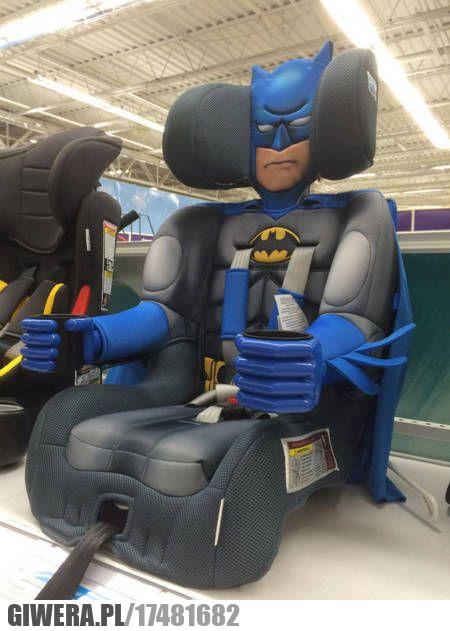 Batman,fotelik dziecięcy