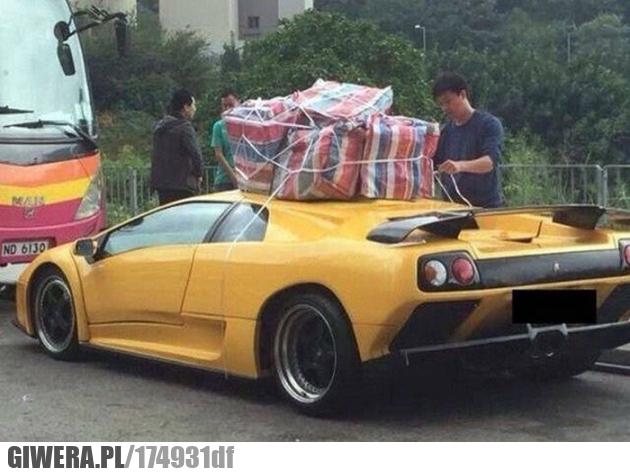 Mistrz przewożenia,Lamborghini