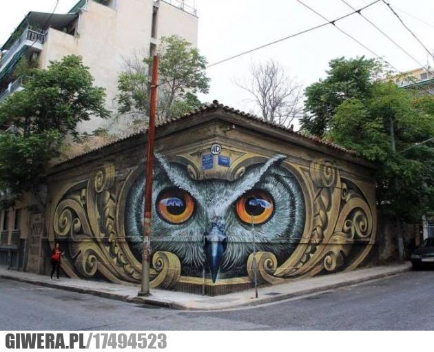 Mural,sowa