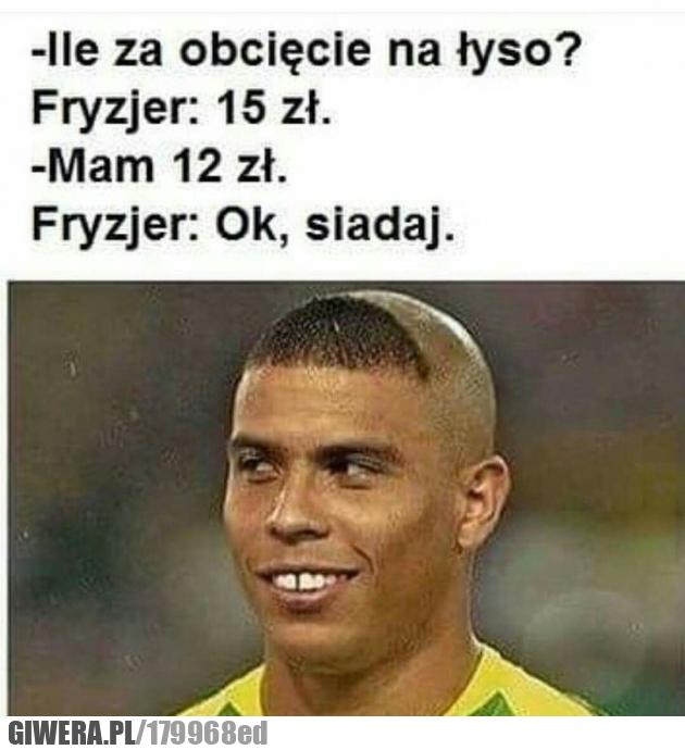 fryzjer,Ronaldo