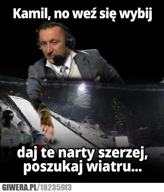 Hajto,Skoki narciarskie,Tomasz Hajto,komentator