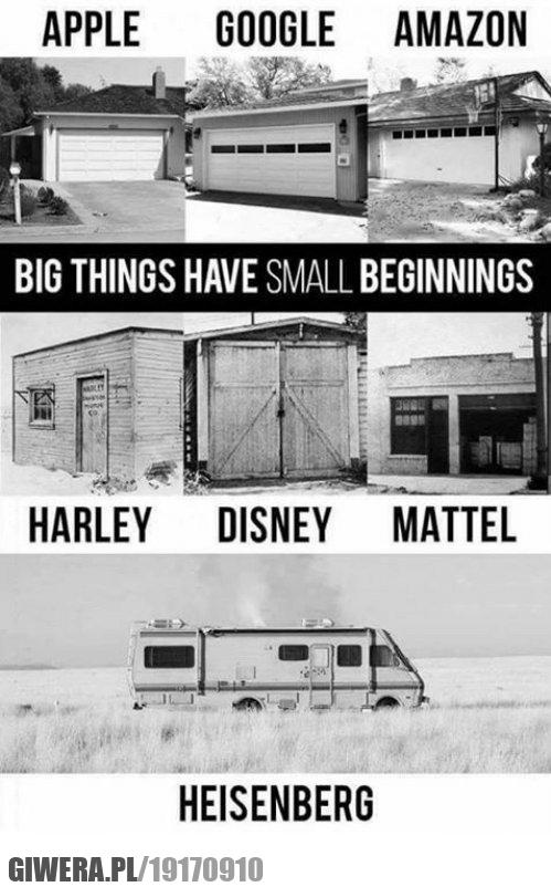 Zaczyna się od małych rzeczy - wersja z Heisenberg-iem