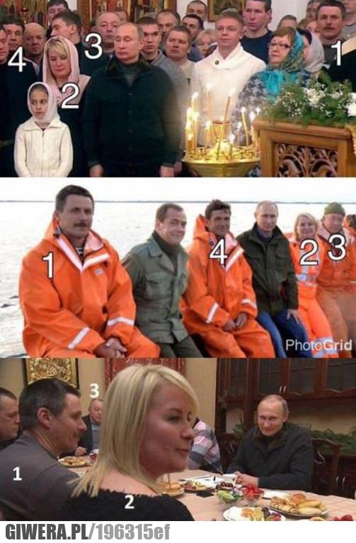 Putin spotyka się z przypadkowymi ludźmi