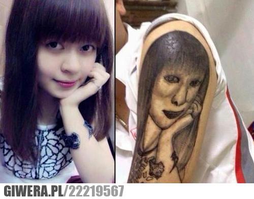 Tatuaż, dziewczyna, salon