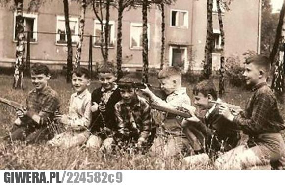 counter strike, pistolet, dzieci, 80 lata