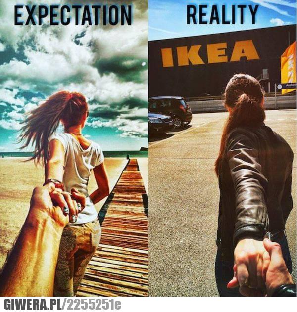 Oczekiwania,rzeczywistość