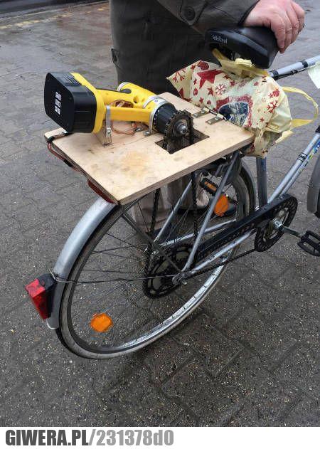geniusz,rower,wkrętarka
