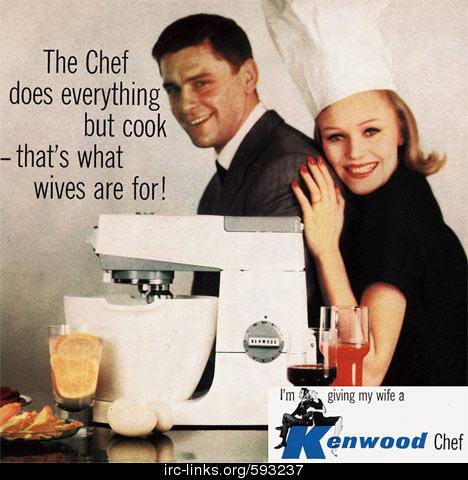 Miejsce kobiety jest w kuchni