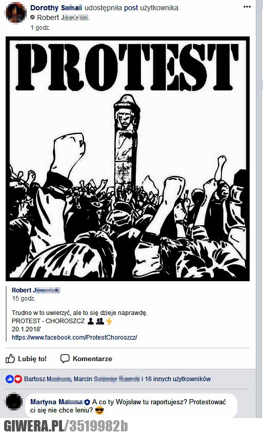 protest, mała gnida, donosiciel, dywersant, V kolumna, Wojsław, oberżyna, kolaborant,gromada wanda
