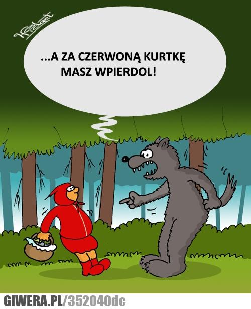 kurtka, kapturek, Pieczyński, wilk