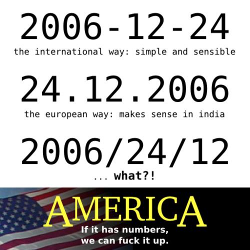 Jeśli ma cyferki - ameryka to spieprzy