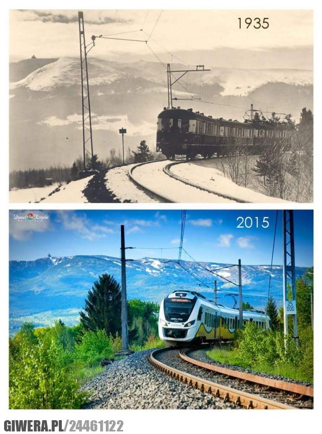 Szklarska Poręba,pociąg,pkp