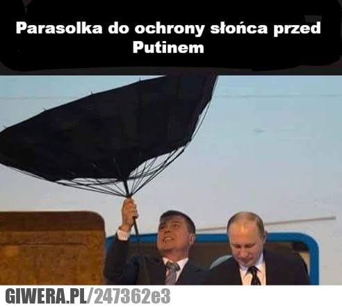 Parasol,Putin,Słońce